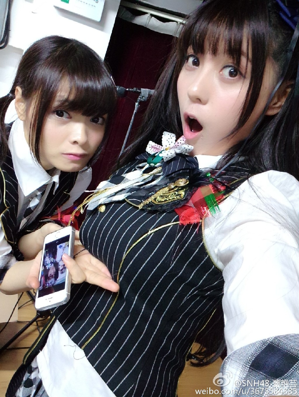 SNH48で最強の胸厚メンバー董艷芸(パンダ)のプロフィールを更新しました