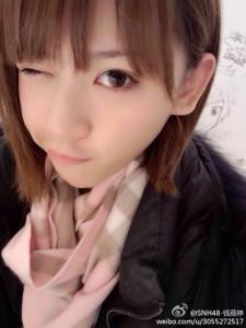 【SNH48】錢蓓婷(マネー)のプロフィールを更新しました