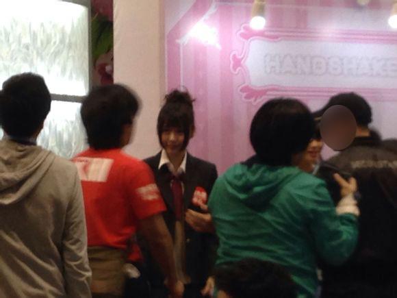 【SNH48】タコちゃん(張語格)今日も香港で活躍中!(AKB48グループ香港握手会2日目)