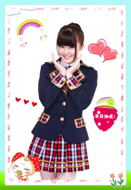 【SNH48】今日はイベント盛りだくさん!温晶婕(イチゴ)誕生日おめでとう!!