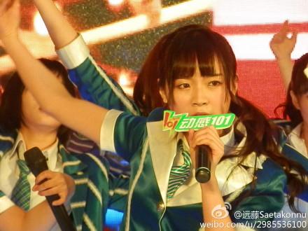 【SNH48】3月22日東方風雲榜イベント写真(その10:莫寒/momo)