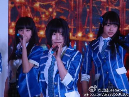 【SNH48】3月22日東方風雲榜イベント写真(その2:陳觀慧/シャオアイ)
