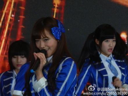 【SNH48】3月22日東方風雲榜イベント写真(その5:許佳琪/KIKI)