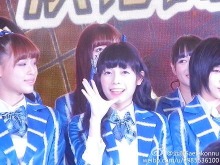 【SNH48】3月22日東方風雲榜イベント写真(その4:陳思/スースー、ヌンチャク)