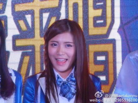 【SNH48】3月22日東方風雲榜イベント写真(その3:戴萌/ダイモン)