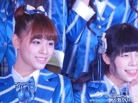 【SNH48】3月22日東方風雲榜イベント写真(その7:錢蓓婷/マネー)