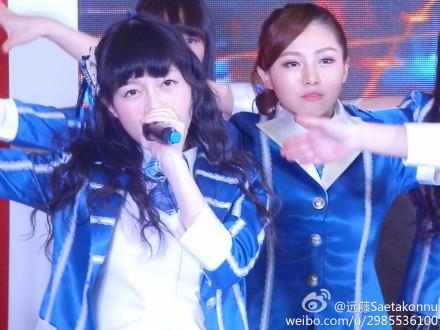 【SNH48】3月22日東方風雲榜イベント写真(その9:孔肖吟/Bちゃん、消音姐、シャオイン)