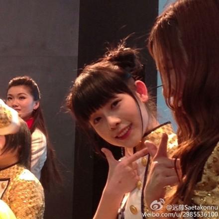 """【SNH48】""""SNH48×シャープ""""イベントの画像その1:陳思(スースー、ヌンチャク)"""