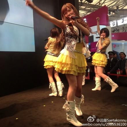 "【SNH48】""SNH48×シャープ""イベントの画像その5:許佳琪(KIKI)"