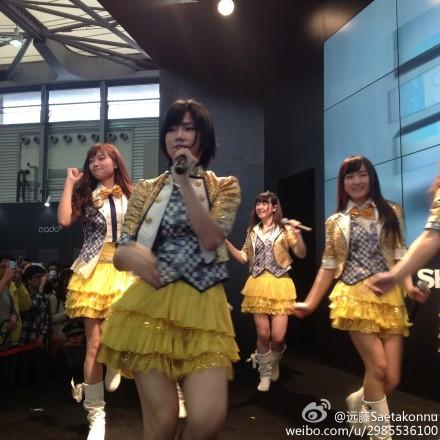 "【SNH48】""SNH48×シャープ""イベントの画像その6:陳觀慧(シャオアイ)"