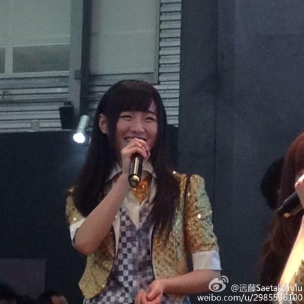 "【SNH48】""SNH48×シャープ""イベントの画像その4:莫寒(momo)"