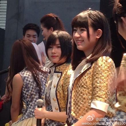 """【SNH48】""""SNH48×シャープ""""イベントの画像その3:李宇琪(マオマオ、鯉魚)"""