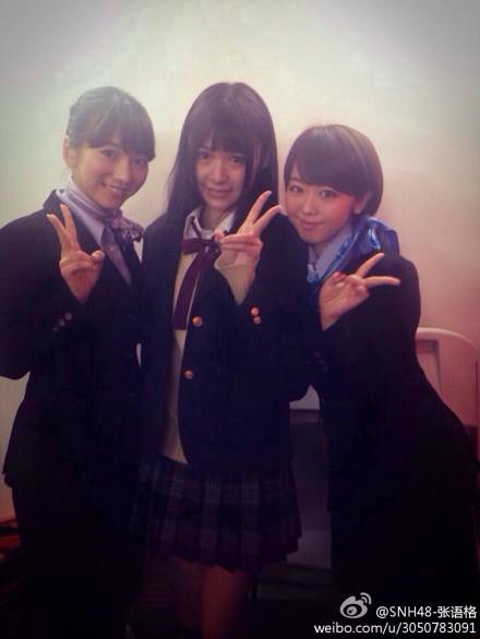 【SNH48】タコちゃん(張語格)おつかれさまー!(AKB48グループ香港握手会)