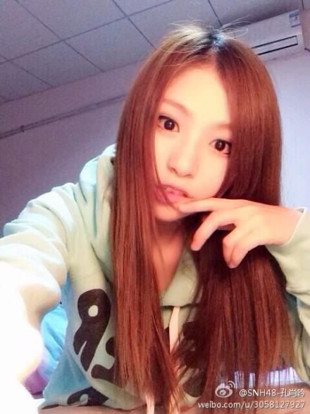 【SNH48】消音姐が久々に微博を更新した(^-^)