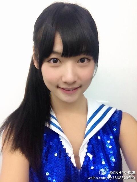 【SNH48】趙粵(チャオ・ユエ/会長、玉米、ユーミー)生日快楽!プロフィール更新