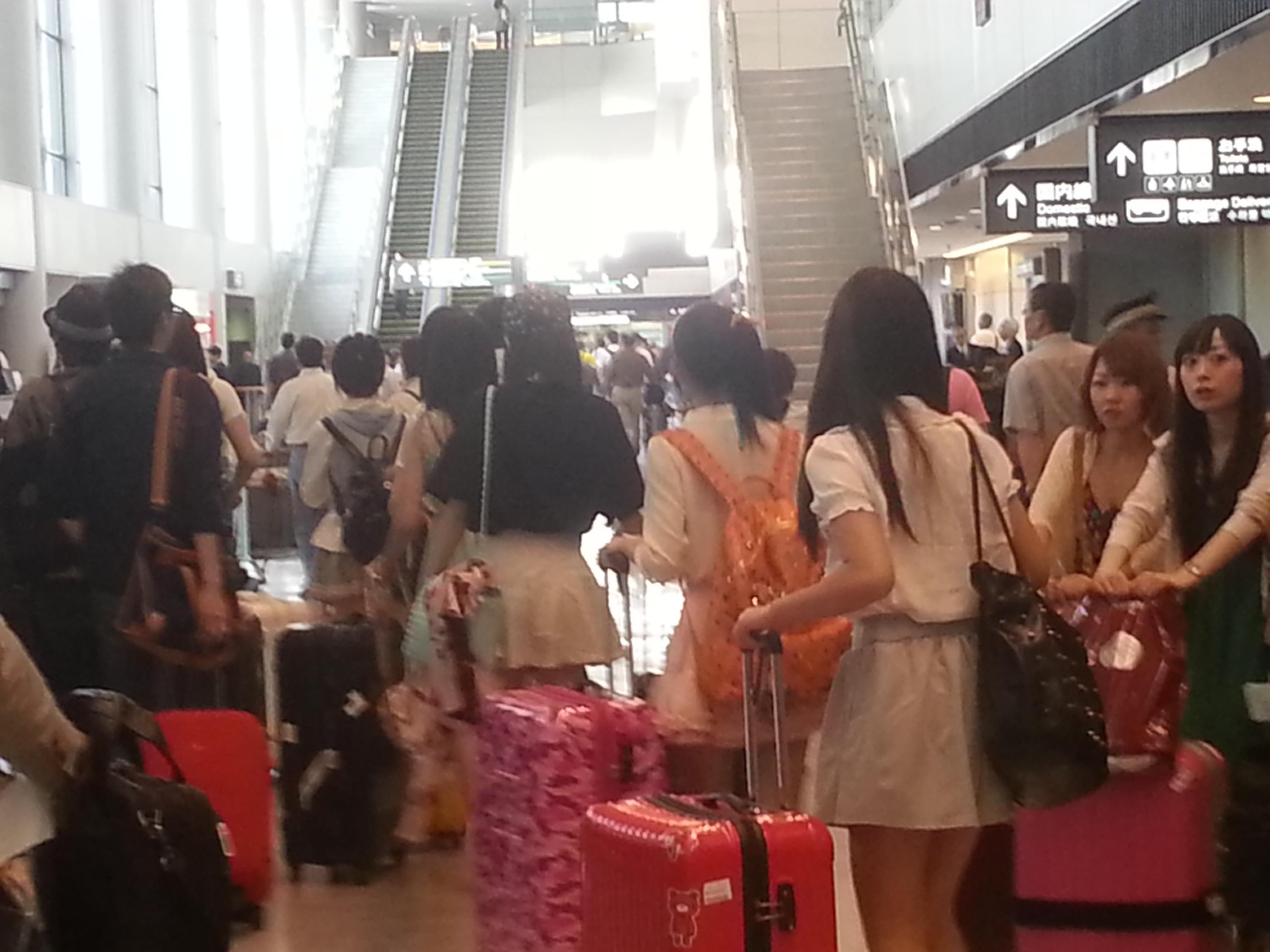 【SNH48】AKB48総選挙に6人のメンバーが来日決定!6月6日到着便予想(笑)