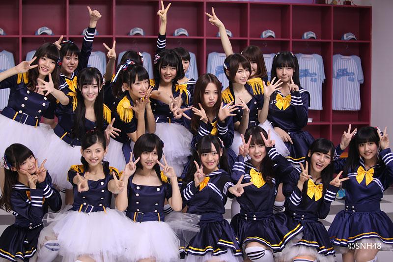【SNH48】SNH48チームN2『街角のパーティー』のMV正式版が配信開始!
