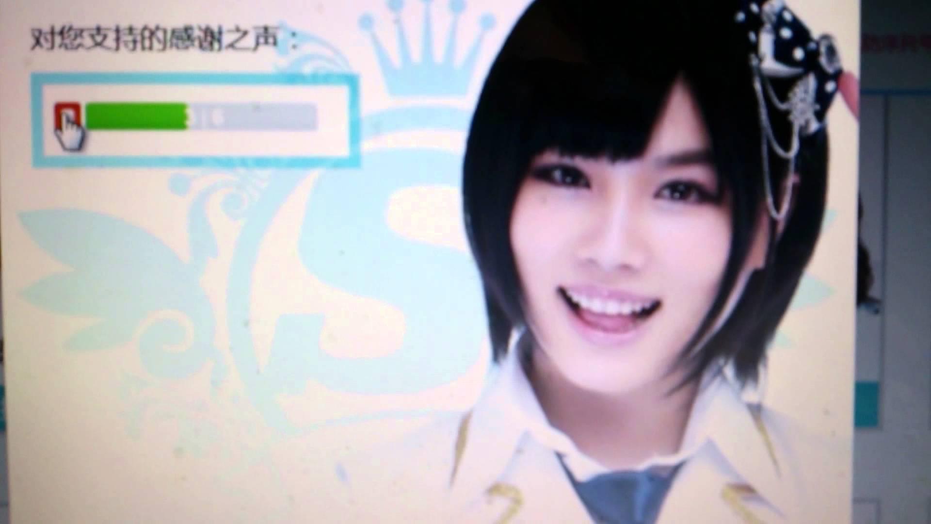 【SNH48】陳觀慧(シャオアイ)の可愛いすぎる投票感謝の声(*´∀`*)