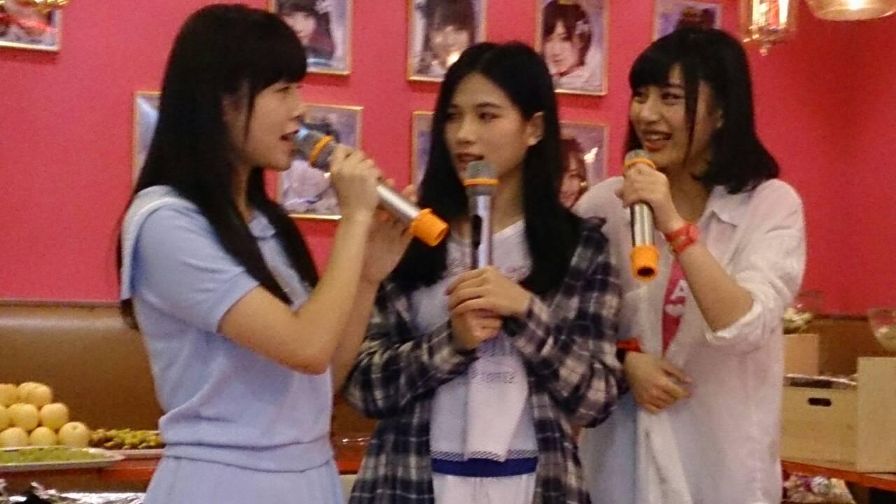 【SNH48】陳觀慧(シャオアイ)誕生日おめでとう!!先日のカフェイベントの画像など25枚