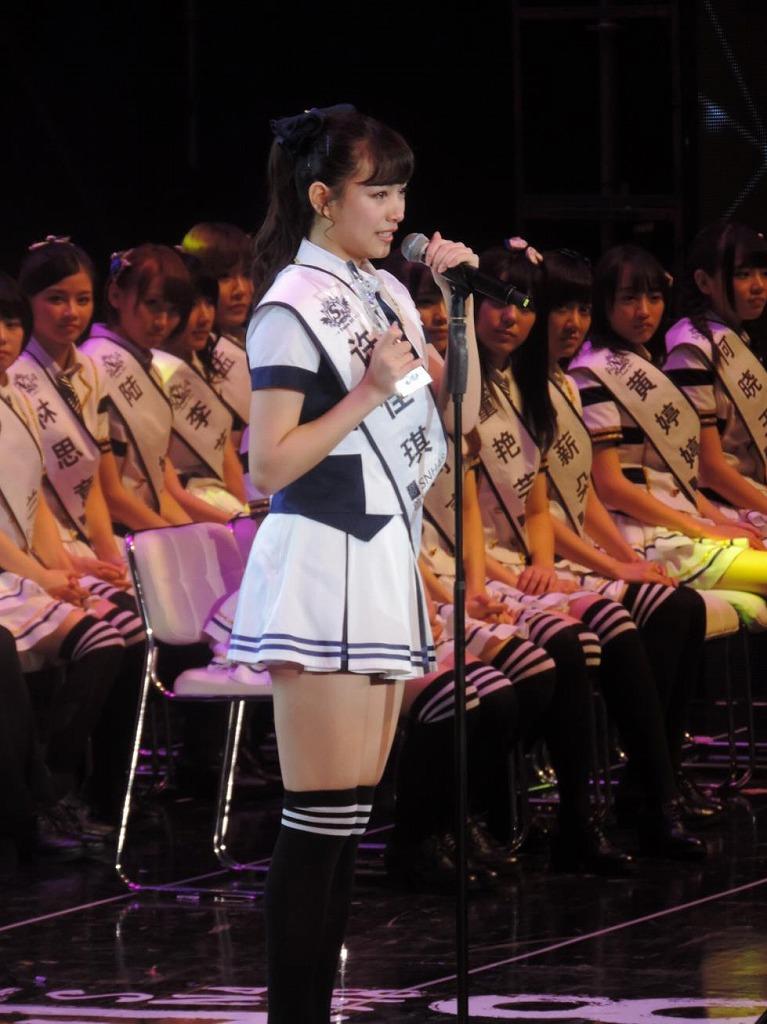 【SNH48選抜総選挙レポート<5>】選抜総選挙開票イベント11位~8位発表まで