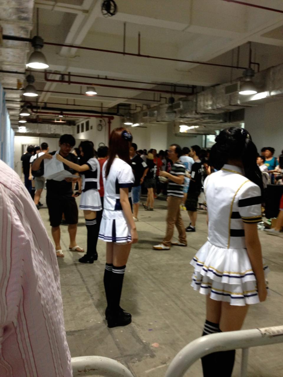 【SNH48】許佳琪(KIKI)推しさんの握手会&写メ会&サイン会レポート(2014/7/27)