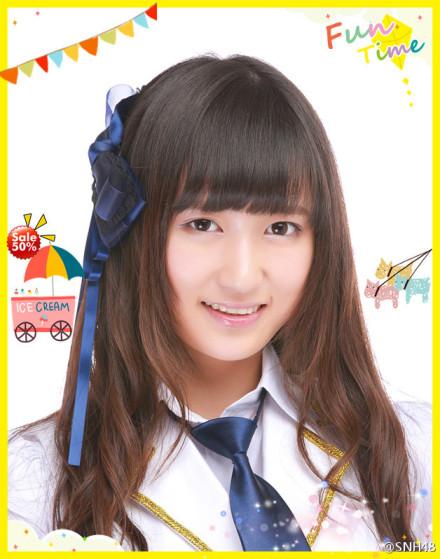 【SNH48】吳哲晗(ウーちゃん/レンレン)誕生日おめでとう!!ウーちゃん写真25枚