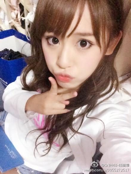 【SNH48】錢蓓婷(マネー)がロングヘアーになって復活!9/6『パジャマドライブ』公演