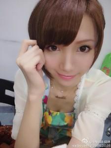 """【SNH48】""""エロかっこいいお姉さま""""陸婷(Lisa)のプロフィールを更新しました!"""