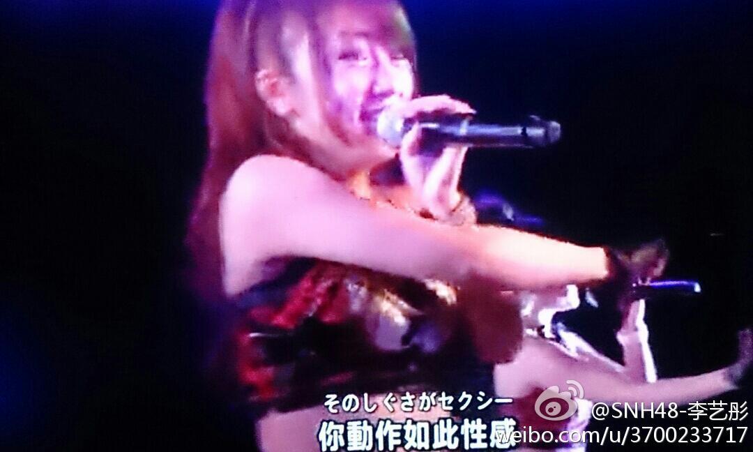 【SNH48】李藝彤(イーちゃん)が考える『前人未踏(目撃者)』公演への想いが素晴らしすぎる件