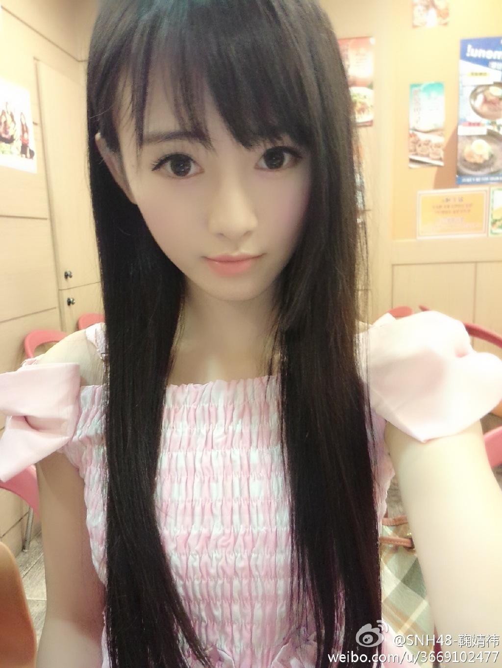 【SNH48】中国4000年に一人の美少女と話題の鞠婧禕(鞠ちゃん)のプロフィールを更新しました