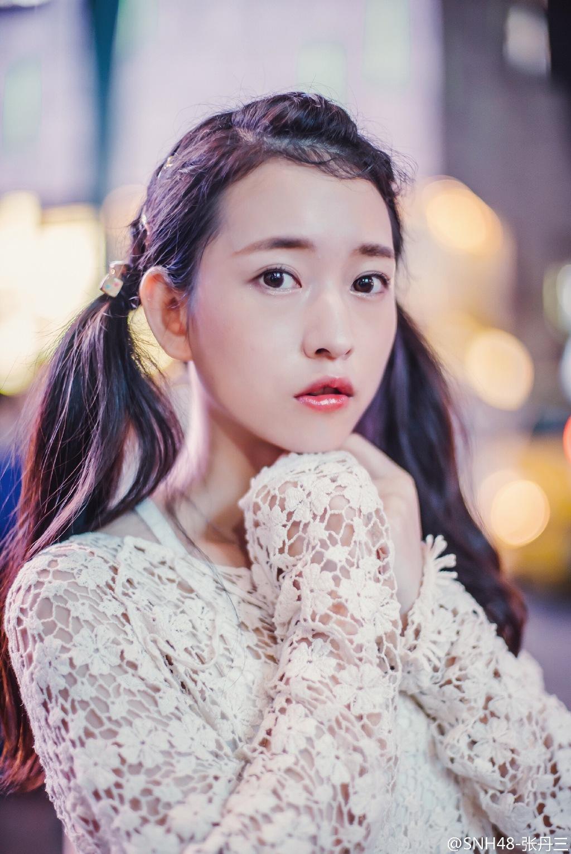 【SNH48】チームX 張丹三(ジャン・ダンサン)のプロフィール更新
