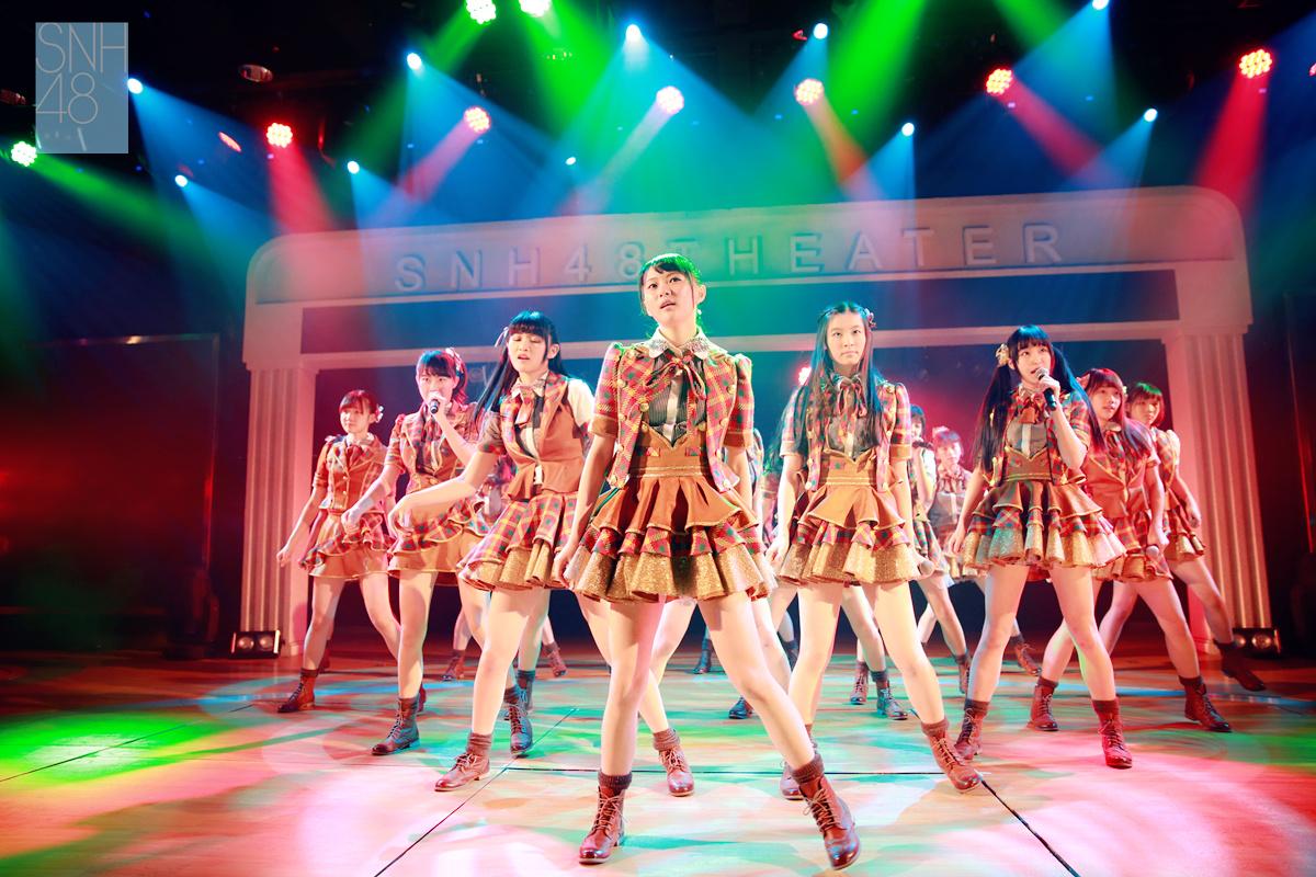 【SNH48】新チーム誕生!その名は『Team X(エックス)』~未知のパワーは無限大~