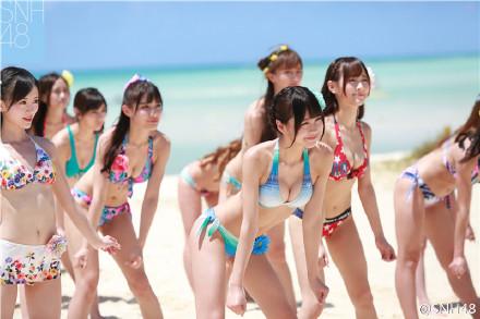 セクシー水着映像ついに解禁!SNH48『真夏のSounds good』MV予告編配信開始!