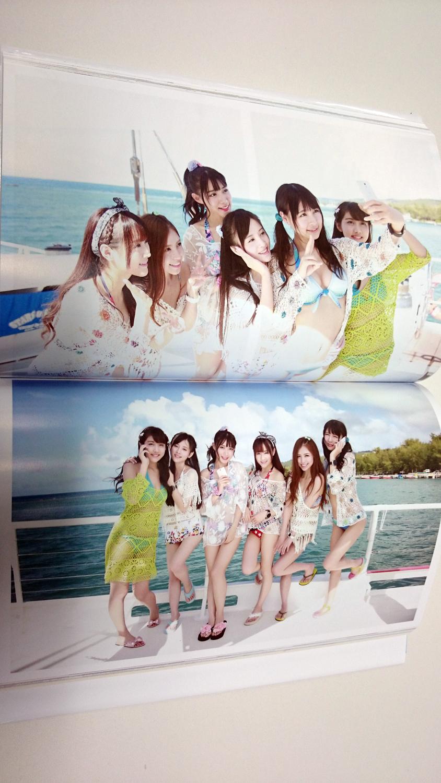 SNH48『真夏のSounds good 精装盤(初回盤)』に付いている写真集が素晴らしすぎる件