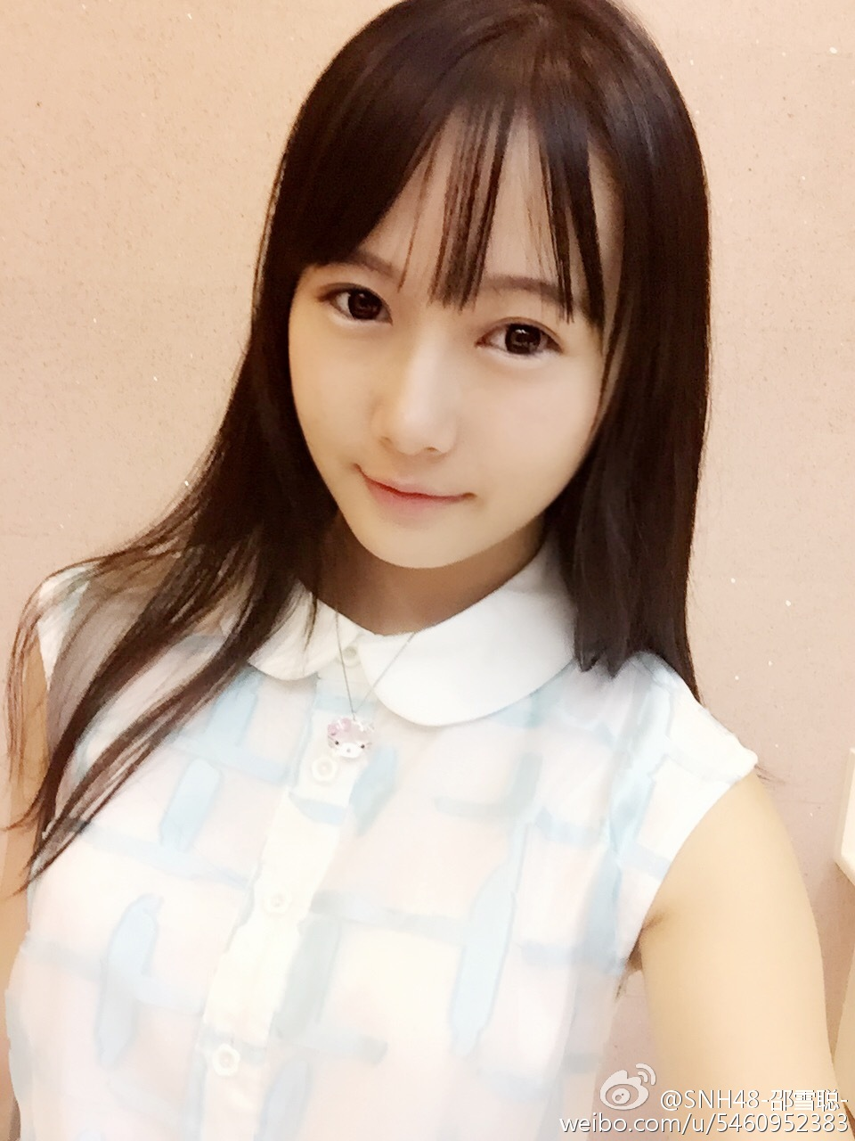 【SNH48】最高の美貌と情熱を併せ持つチームXセンター邵雪聰(シャオ・シュエツォン)のプロフィール更新