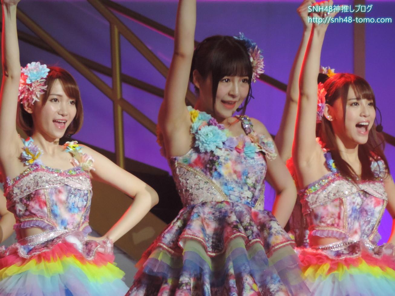 【画像大量】SNH48第二回選抜総選挙レポート:コンサート編(その2 真夏のSounds Goodなど)