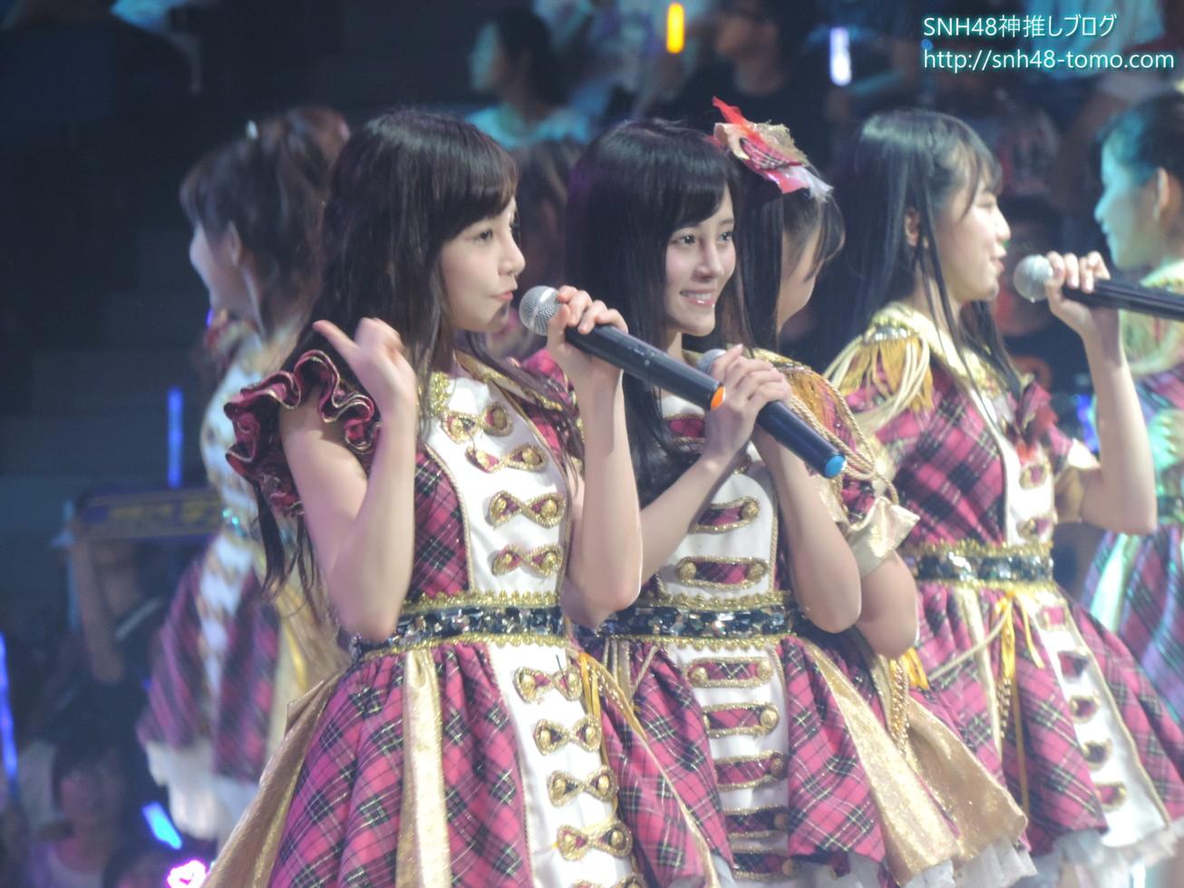 【超必見】SNH48第二回選抜総選挙レポート:コンサート編(その4 鈴懸なんちゃら他)