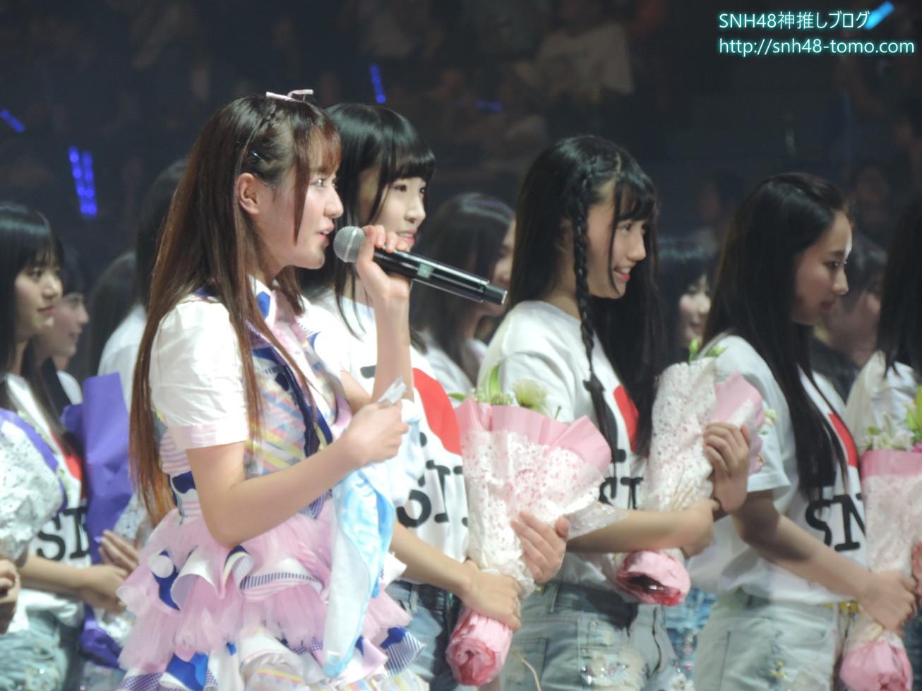 【超必見】SNH48第二回選抜総選挙レポート:コンサート編(最終回 ヘビーローテーション他)