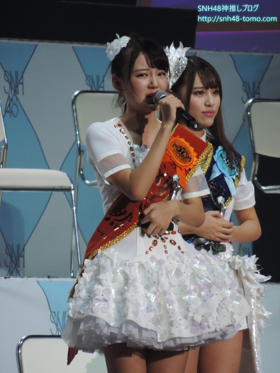 SNH48選抜総選挙開票イベントレポート『アンダーガールズ(32位~25位)』