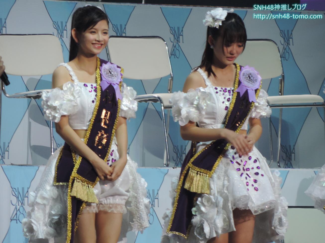 """SNH48選抜総選挙開票イベントレポート""""明と暗""""『アンダーガールズ(24位~17位)』"""