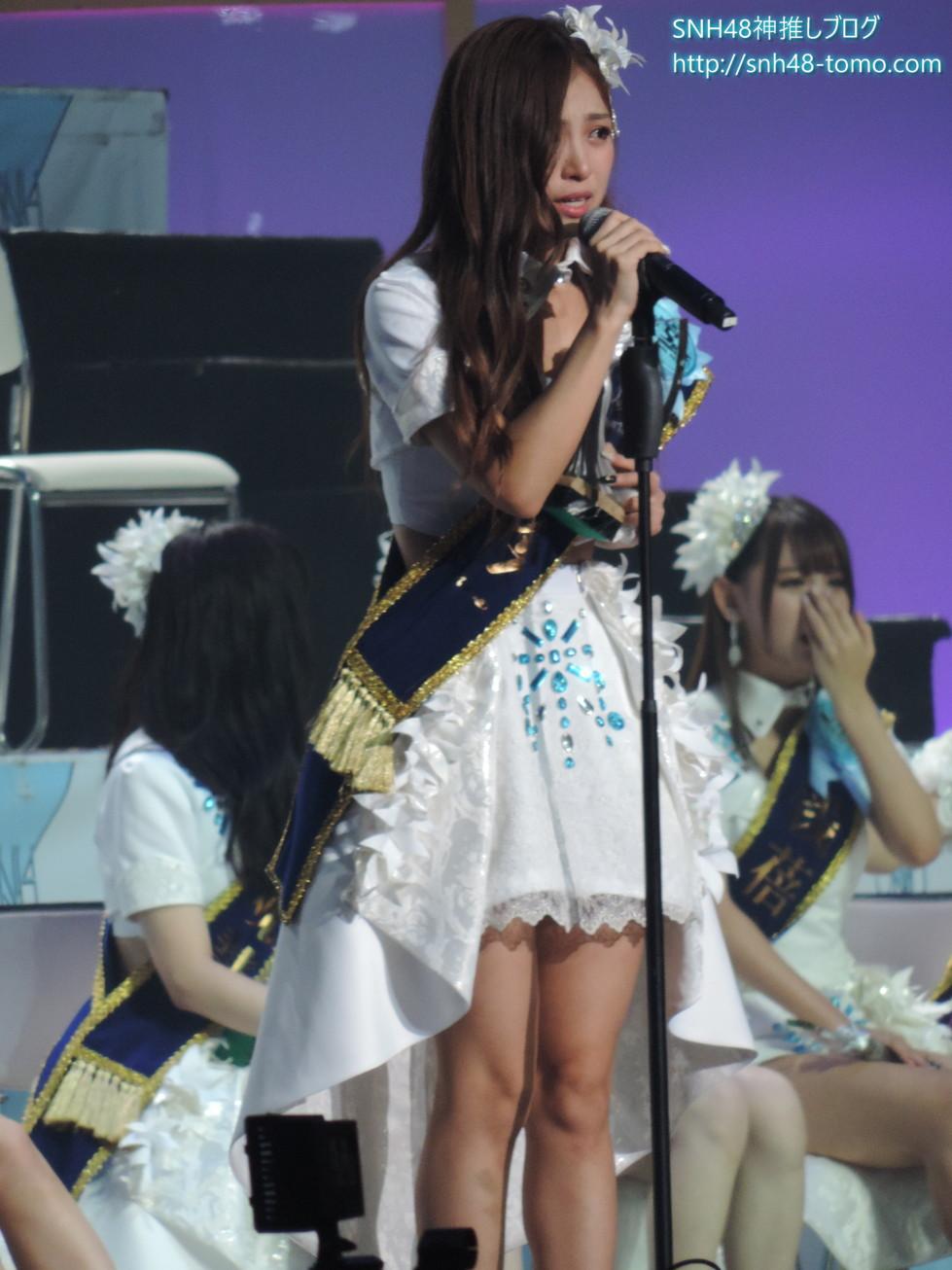 SNH48選抜総選挙開票イベントレポート『選抜メンバー発表(16位~8位)』