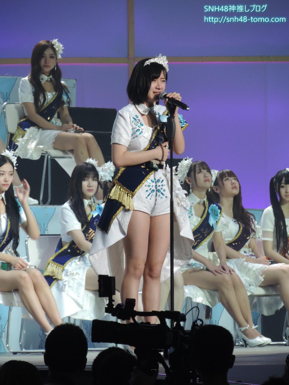 【SNH48選抜総選挙レポート】ファンの激励『死中求活』試練の7位 李宇琪(リー・ユーチー)