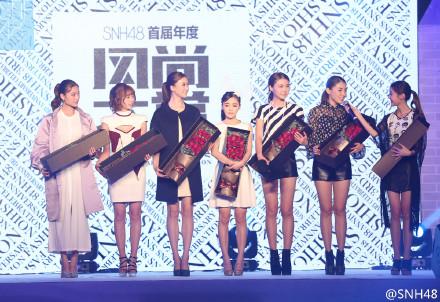 璐宝(ルバオ)復活!!SNH48第一回風尚大賞(ファッションショー)レポ