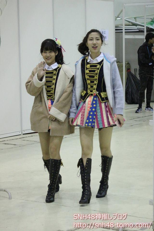 SNH48握手会会場_05